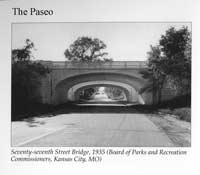 The Paseo 77th Street Bridge